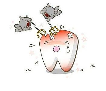 儿童乳牙龋齿的危害