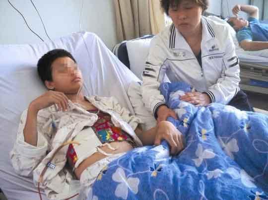 肝破裂术后护理