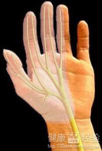 发麻也有可能是手臂血液循环造成的,多按摩下手三阴,手三阳六条经