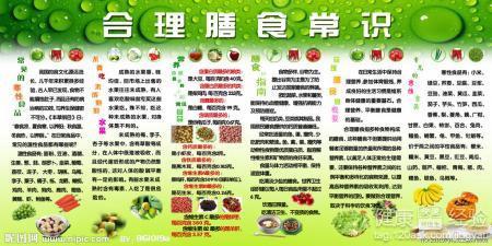 合理膳食 中国居民膳食指南