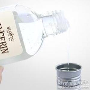 白醋加甘油能美白吗图片