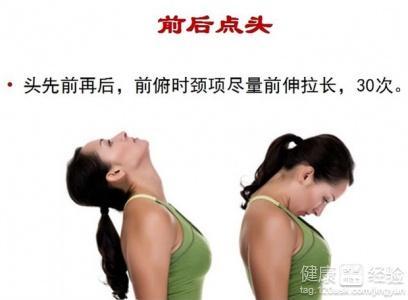 颈椎病自我治疗有七方