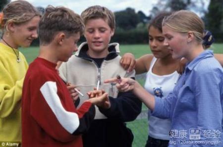 青少年吸烟危害大