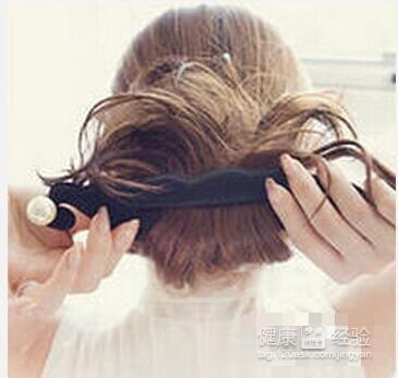 珍珠盘发器,盘出漂亮发型图片
