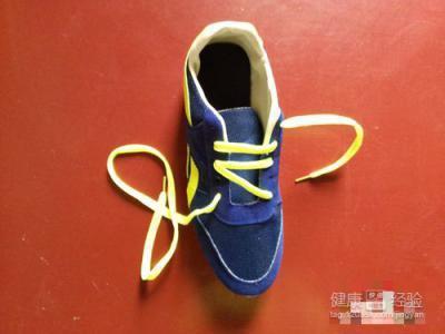 如何系鞋带之五角星系法图片