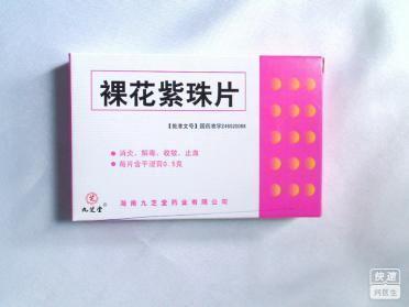 裸花紫珠片