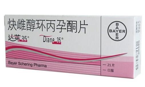炔雌醇环丙孕酮片