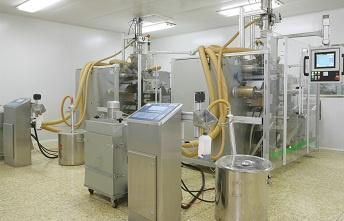 2005德国ROMACO全自动颗粒包装生产线