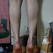 我的肌肉型小粗腿没了,哈哈哈!