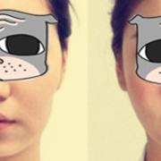 大脸速变小脸的过程
